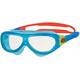 Zoggs Phantom Lapset uimalasit , punainen/sininen